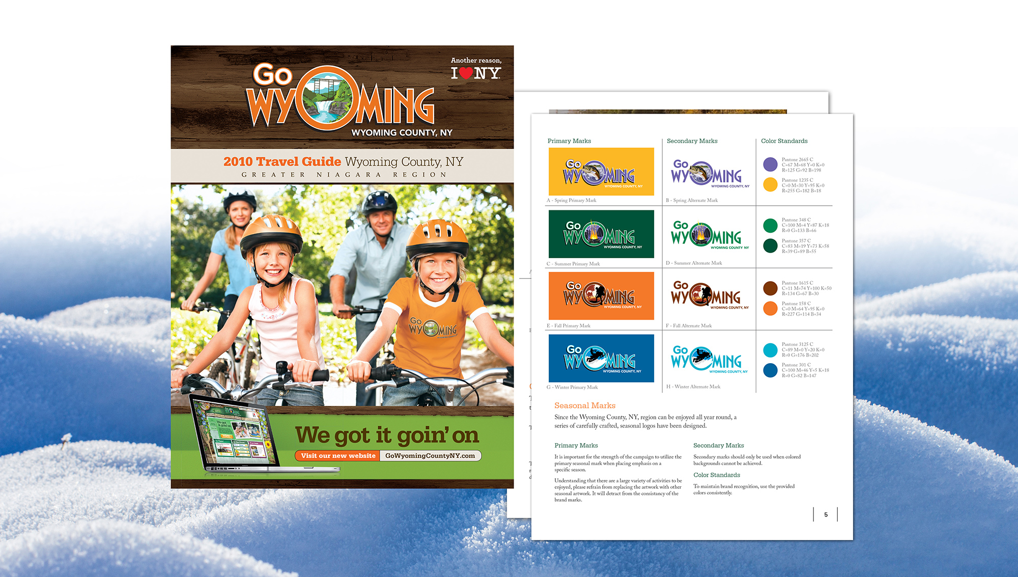 Go Wyoming County – I Love New York Branding Campaign